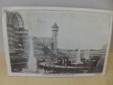 Crystal Palace Sydenham Postcard posted January 1905
