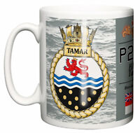 Royal Navy HMS Tamar Ceramic Mug, River-class patrol vessel P233
