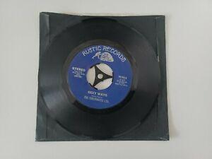 US Rustic Records 45 Soul Funk The Checkmates Ltd - Sexy Ways / Run  run 1974