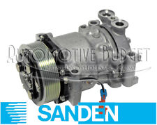 A/C Compressor w/Clutch for Sanden 4342, 4351, 4466, 4850 - NEW OEM