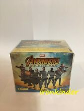 Avengers Infinity War Panini 50 packs of stickers