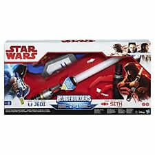 Star Wars Last Jedi Da Che Parte Stai Blade Builders Lightsaber Spada Laser 2in1