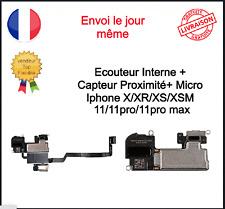 Ecouteur Interne Capteur Proximité Micro Iphone X XR XS XSM 11 11pro Max
