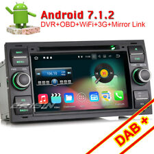 Android 7.1 Autoradio DVD GPS Navi DAB+für FORD FOCUS MONDEO FIESTA TRANSIT KUGA