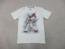 Nike Philadelphia Phillies Shirt Adult Medium White Jason Howard Baseball Mens *