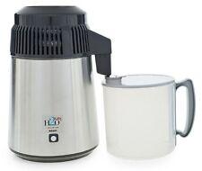 Stainless Steel Water Distiller + BPA-Free Break-Resistant Carafe 110-120 Volts