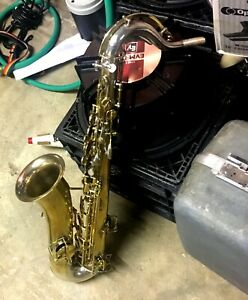 """THE HEAD TURNER""BUESCHER 1922 TRUE TONE CUSTOM TRI TONE C MELODY SAXOPHONE COOL"