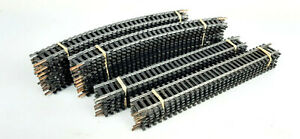 LIMA VINTAGE STEEL SET TRACK X 32 PIECES GOOD COND UNBOXED HO/OO GAUGE(SN)