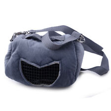 Top Portable Small Animal Carrier Warm Bag Pet Hamster Guinea Pig Pouch Bed