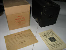 Kodak Brownie Box No. 3 model B (9x12) vor 1918, Topzust. OVP Anleitung Registr.