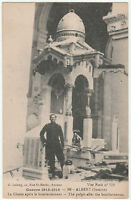 Antique GUERRE 1914-1916 ALBERT Somme POSTCARD Carte Postale France World War I