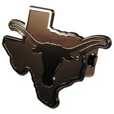 "Texas Longhorns Silver Trailer Hitch Cover [NEW] Truck Cap UT- For 2"" Receivers"