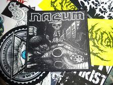 Nasum Patch Grindcore Metal Necrony