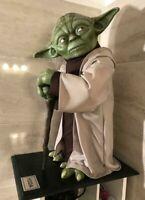 Star Wars Yoda Life Size Statue Unique Prop Rare SW Darth Vader Episode Figure