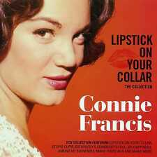 CONNIE FRANCIS - LIPSTICK ON YOUR COLLAR - THE COLLECTION - 2 CDS - NEW!!