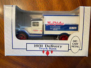 ERTL 2221 1:34 Die Cast 1931 True Value Delivery Truck Bank Original Box Mint!