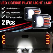 For 1995 2004 Toyota Tacoma Red Oled Tube Led License Plate Light Lamp Housing Fits 1996 Toyota Tacoma