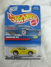 Hot Wheels 1999 Mainline Series , Porsche 911 Yellow Variation Mint In Card
