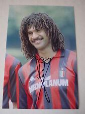 Signed Ruud Gullit AC Milan FC 12x8 Photo