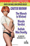 Brown Carter-Wench Is Wicked/Blonde Verdict (US IMPORT) BOOK NEW
