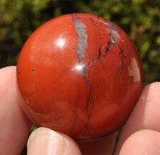 1 x Polished Red Jasper Crystal Ball Sphere. Ref:I.RJS healing crystals spheres