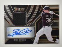 2020 Select Rookie Jersey Auto #RJA-ZC Zack Collins /209 - Chicago White Sox