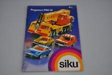 L952 Siku Catalogue from 1980-81 -/b