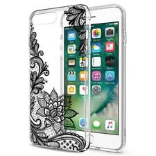 3D Luxury Flower Patterned Silicone Soft Lace Case for iPhone 6 6S Plus 7 8 Plus