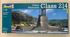 Revell Class 214 U:Boat Submarine Model Kit - 1:144 Scale