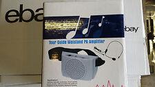 BAUCHGÜRTEL universal Mobil-VERSTÄRKER Headset Mikrofon, Batterie oder Netzteil