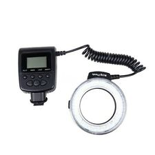 Macro LED Ring Flash Light for Canon Nikon Olympus Panasonic DSLR Camera SH