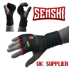 Senshi Japan Padded JUNIOR Inner Hand Wraps Gloves Fist Bandage Strap Boxing MMA