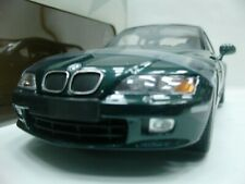 WOW EXTREMELY RARE BMW Z3 2.8 Coupe 24V 1998 Oxford Green 1:18 UT-Auto Art/M/GTR