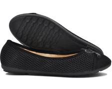 Tanggo Devon Formal Flat Shoes Doll Shoes Slip-On for Women (black)