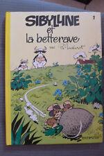 BD sibylline n°1 et la betterave réédition cartonnée 1980 TBE macherot