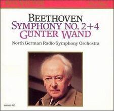 Beethoven Symphony No. 2+4 von Günter Wand, Sondr.