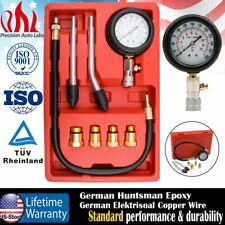 Professional Petrol Gas Engine Cylinder Compression Tester Gauge Kit Mechanic US
