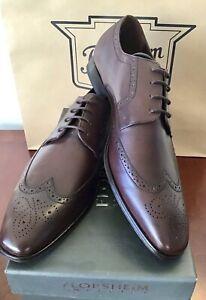 BRAND NEW Men's Florsheim Shoes Redwood Leather EU 46 (AU Size 12) RRP $259.95.