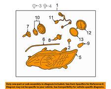 SUBARU OEM 08-09 Legacy-Headlight Assembly Left 84001AG51B