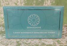 Derma Shine Derma Roller 6 pc Kit for Face & Body 0.25mm Micro Needling Skin Set