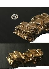jeep  Pin Badge Gold Plated Tie pin war gift battle codeT5 army war