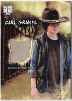 Walking Dead Road to Alexandria Costume Wardrobe Relic Card Carl Grimes R-CG