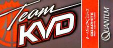 "QUANTUM TEAM KVD KVDS705F 7'0"" MEDIUM HEAVY FAST ONE PIECE SPINNING ROD"