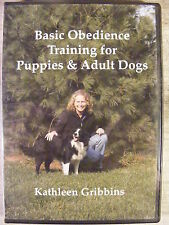 Basic Obedience Training for Puppies & Adult Dogs (DVD, 2006) Kathleen Gribbins