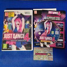 NINTENDO Wii : just dance 4 edition spéciale