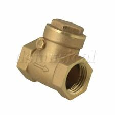 "1/2"""" BSPP Swing Check Valve Prevent Water Backflow High Pressure"