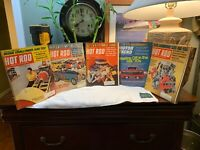 VINTAGE Hot Rod Magazines September October November December 1969 LOT Of 5 RARE