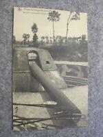 World War 1 / WW1 postcard - Artillery piece / large gun - Dunkerque