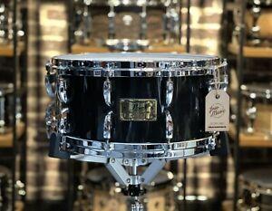 Pearl Masters Custom Maple Black Lacquer Snare Drum #582