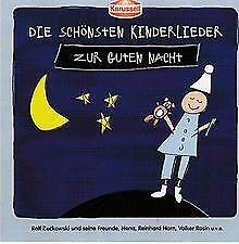 Die schönsten Kinderlieder zur Guten Nacht von Rolf Zuckow... | CD | Zustand gut